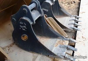 Pack baldes standard e estreito 6 a 8 toneladas