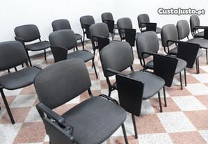 Cadeira formação c/Palmatória revestida tecido