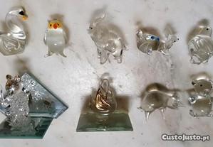 Miniaturas em vidro
