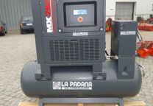 Compressor de parafuso de 7.5HP com secador