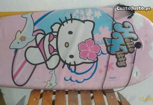 Prancha body board para criança