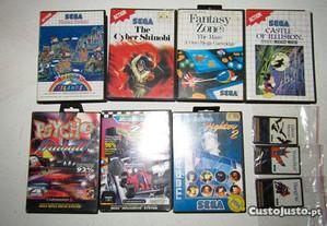Lote de Jogos Sega Mega Drive / Master System