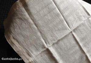 Toalha de mesa rendada + 6 guardanapos de algodão