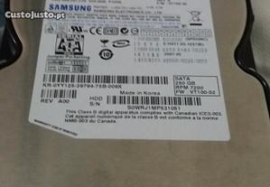 Disco rígido para p c Samsung 250.gb novo