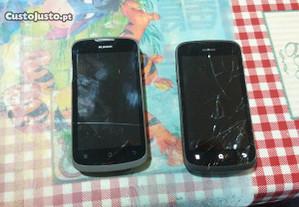2 Huawei g300 pra peças