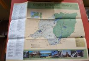 Mapa Turístico Gerês - Terras de Bouro
