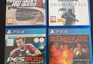 4 Jogos para Playstation 4