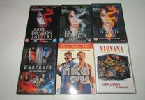 Lote de filmes DVD - Ler anuncio