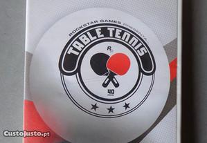 Jogo WII - Rockstar Games- Table Tennis