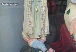 Imagem Nossa Senhora Fatima com 3 pastorinhos